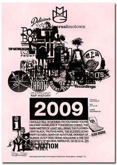 Herr Wempe a/k/a DJ Soulsonic: Rap History 2009