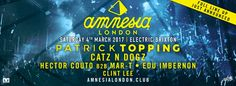 #housemusic Amnesia London announces full DJ line up Saturday 4th March: Amnesia Ibiza has announced the full DJ line up for its London…