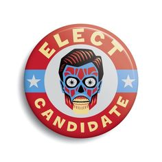 """1.5/"""" Wake Up Obey Sleep They Live Movie Roddy Pinback Button Free Shipping"""