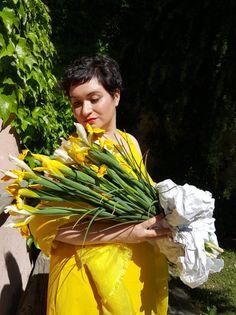"'S Max Mara ""Senior"" yellow Dress #maxmara #dress #spring #summer #2016"