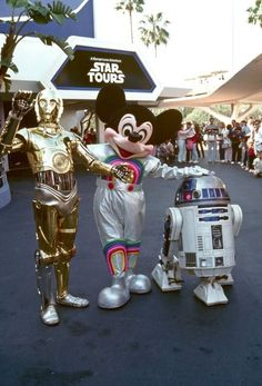 Opening of Star Tours 1986 I wish we could go during Star wars weekend but maybe next time