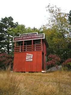 double decker outhouse in  arkansas