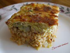 Szemirámisz függőkertje: Rakott kínai kel Chinese Cabbage, Lasagna, Food And Drink, Ethnic Recipes, Napa Cabbage, Lasagne