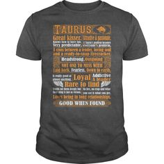 Taurus Not One Mess With Loyal Rare Find Good When Found