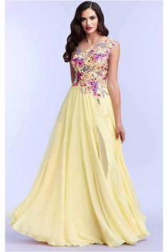 Purple Chiffon A-line Zipper Sleeveless Prom Dresses
