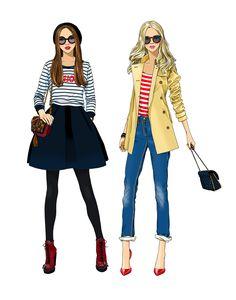 #AnnaLazareva #illustration #teens #fashion #fashionable #style #stylish #digitalillustration #digital #graphic #lifestyle #hipster #LindgrenSmith