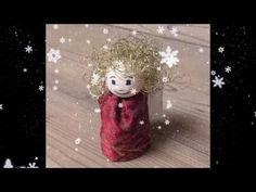 DIY - How to make an angel - Christmas angel - guardian angel - Christma... Christmas Angels, Handicraft, Christmas Decorations, How To Make, Guardian Angels, Christmas Jewelry, Craft, Arts And Crafts, Christmas Decor