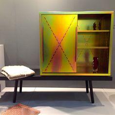 Tauber cabinet by Sebastian Herkner for Pulpo   A Walk Through Maison&Objet September 2014   Flodeau.com