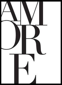 CUADRO AMORE - comprar online Wall Art Prints, Poster Prints, Bedroom Artwork, Fashion Wall Art, Typography, Lettering, Photo Wall Collage, White Aesthetic, Wall Art Quotes