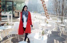 Ein kulinarischer Streifzug durch Wien Coat, Train, Stripes, Sewing Coat, Coats