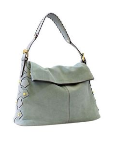 Aimee Kestenberg Women's Noho Hobo Leather And Suede bag, Soft olive, New  | eBay