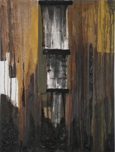Oil Pump - 50cm x 70cm - Mixed media & oil on canvas .  www.vasilisangelopoulos.com