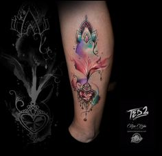 flower tattoo,girl tattoo,tattoo mädchen,girly tattoo,watercolor tattoo,tattoo watercolor,watercolor tattoo,wasserfarben tattoo,aquarell tattoo,flower,flower tattoo,blume tattoo,tattoo vorlage,tattoo vorlage girl,aquarell tatoo,ted bartnik,surf-ink-tattoo,ted2,watercolour tattoo,mädchen bein tattoo,bein tattoo,girl bein tattoo,lilien tattoo,diamannt tattoo,diamannt,tattoo lilie,mandala tattoo,schnörkel tattoo. Watercolour Tattoos, Watercolor Mandala, Mandala Tattoo, Mandala Art, Tattoo Bein, Girly, Zentangle, Ted, Kiss