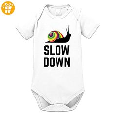Slow Down Baby Strampler by Shirtcity - Shirts mit spruch (*Partner-Link)