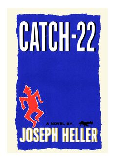 One of the century's greatest works of American literature, Joseph Heller's profound and compelling novel has appeared on nearly every list of must read fiction. It is a classic in every sense of the word. Catch-22 took the war novel genre to a new level, shocking us with its clever and disturbing style. #catch #military #reading #musser