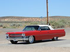 My own little convertible 64 Cadillac.
