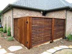 lattice effect fence