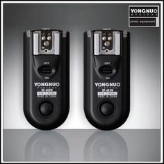 Yongnuo RF-603 N3   They are just great. I use them both as remote flash triggers and as shutter release triggers