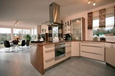 Fertighaus Wohnidee Küche und Esszimmer MEDLEY 210