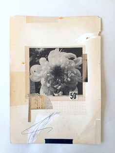 So inspired! The artist Lee McKenna embraces the imperfection of old, used, discarded and damaged paper, to create unique beautiful collages. Her mixed media compositions are mostly made of found p…