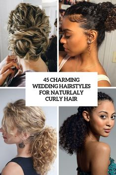 √ Bun Styles for Curly Hair Natural Curls. Beautiful Bun Styles for Curly Hair Natural Curls. 45 Charming Bride S Wedding Hairstyles for Naturally Curly Curly Hair Styles Easy, Long Curly Hair, Medium Hair Styles, Natural Hair Styles, Short Hair Styles, Updo Curly, Naturally Curly Updo, Bun Styles, Hair Medium