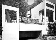 Great Swiss master, architect, Luigi Snozzi. Haus Diener, Tessin