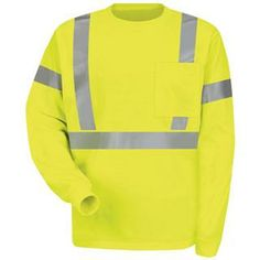 RedKap SYK2 Hi-Visibility Long Sleeve T-Shirt