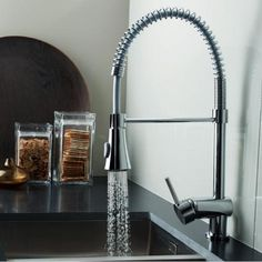 Benissa Pull Out Chef Kitchen Tap