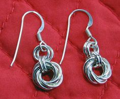Mobius Flowers Earrings