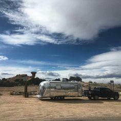 Airstream Camping, Airstream Trailers, Camping Glamping, Air Stream, Bohemian, Train, Dreams, Adventure, Sweet