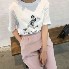 Korean Fashion Trends you can Steal – Designer Fashion Tips Mode Outfits, Casual Outfits, Fashion Outfits, Womens Fashion, Fashion Trends, Fashion Killa, Fashion News, Looks Style, Looks Cool