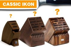 The Wusthof Classic Ikon Knife Set That's Best For You - All Knives Knife Block Set, Knife Sets, Wusthof Knives, Wusthof Classic, Knife Stand, Best Kitchen Knives, Knife Storage, Stainless Steel Cutlery, Steak Knives