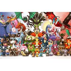 Custom New Arrival Cartoon Pokemon Anime Poster Home Decor modern Wall Sticker For Bedroom Wall Poster YF-&28 #Affiliate