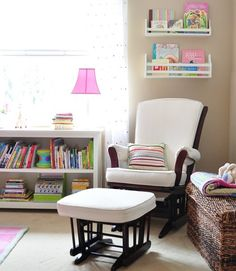 reading chair childs room