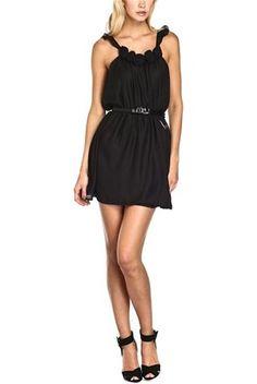 Φόρεμα, μαύρο - Maison Espin | Stilago