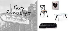 """#Paris #Deco #Kave Home - Lundi, la semaine commence, nous démarrons notre périple par la capitale. """" Sous le ciel de Paris s´envole une chanson..."""". Alors non, Paris ne se résume pas à son ciel (souvent) gris. Paris, c´est aussi et surtout la ville de l´amour, de la culture, du chic et de la mode ! Et la mode, chez Kave ça nous inspire !  Notre sélection d´objets déco sera donc inspirée de la couleur de l´incontournable symbole parisien des podiums : la petite robe noire."""