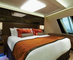 The Haven's Forward-Facing Penthouse Bedroom on Norwegian Escape
