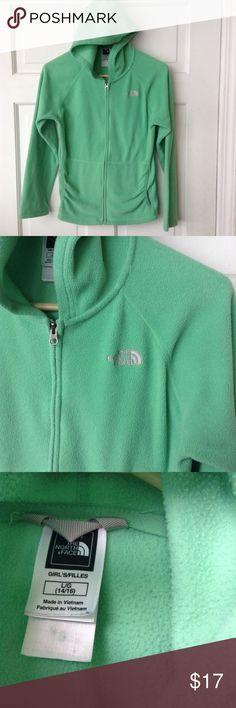 NORTHFACE FLEECE ZIPPER JACKET Girls size L NORTHFACE jacket, in good condition. North Face Shirts & Tops Sweatshirts & Hoodies