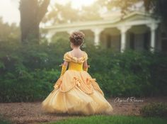 Your Princess will be ready to dance in this Custom Belle inspired ballgown. This is for a SIZE 10 but can be ordered in 24 months and up. Size 8
