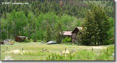 Ashley Ranch just outside Bonanza, Colorado. This ranch was once a house of ill repute