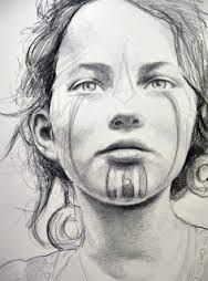 Image result for war paint face tribal