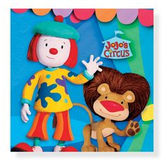 <3 Jojo's Circus <3 I've always liked clowns. I don't understand how anyone can be afraid of them! :')<3