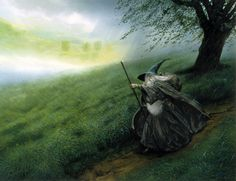 John Howe | Gandalf The Grey, 1989 | John Howe |