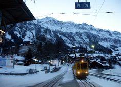 See the world. Your luxury travel adventure begins here… Wengen Switzerland, Seize The Days, Nature Crafts, My Heritage, Train Station, Luxury Travel, Adventure Travel, Trains, Countries