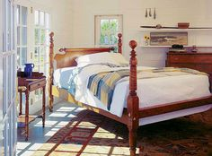 From Leonards of New England: Antique Four poster