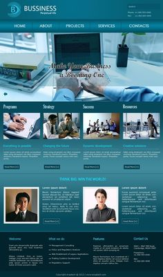 Buy Business Template