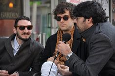 interviewing band