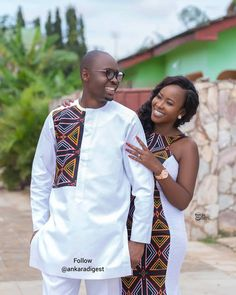 Stylish Styles for Couples - Fashion Ruk Ankara Fashion Couples African Outfits, African Dresses Men, African Fashion Ankara, Latest African Fashion Dresses, Couple Outfits, African Print Fashion, Africa Fashion, African Prints, African Wedding Attire