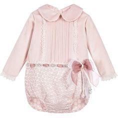 78915412f87 Baby Girls Dusky Pink Shortie