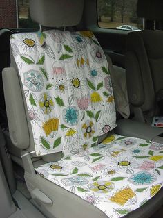 Car SeatBack Full Seat Protector Carseat Barrier by babygoodness, $45.99